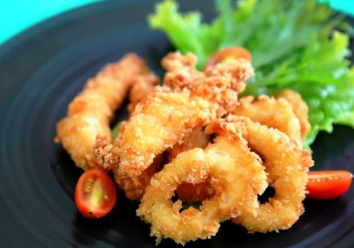 Calamari Gamberri Fritti