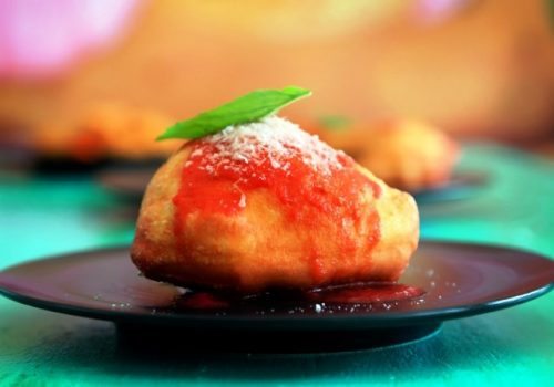 Fried Mini Pizza
