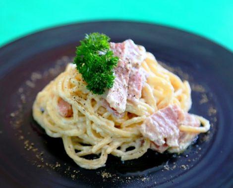 Pasta Spaghetti Carbonara Kerobokan